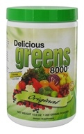 Greens World - Delicious Greens 8000 Original Flavor - 10.6 oz. by Greens World