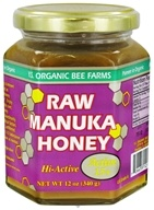 YS Organic Bee Farms - Raw Manuka Honey Hi-Active 15+ - 12 oz. (726635121148)