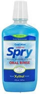 Image of Xlear - Spry Oral Rinse Sugar Free Blue Cool Mint - 16 oz.