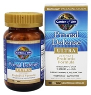 Garden of Life - Primal Defense Ultra Ultimate Probiotic Formula - 60 Vegetarian Capsules, from category: Nutritional Supplements