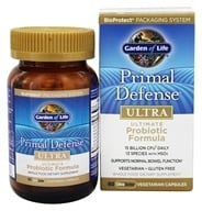 Garden of Life - Primal Defense Ultra Ultimate Probiotic Formula - 60 Vegetarian Capsules by Garden of Life