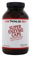 Twinlab - Super Enzyme Caps Maximum Strength - 200 Capsules