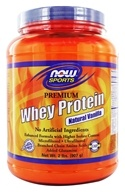 NOW Foods - Whey Protein Natural Vanilla - 2 lbs. (733739021755)