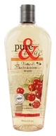 Image of Pure & Basic - Natural Bath & Body Wash Cherry Almond - 12 oz.