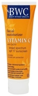 Beauty Without Cruelty - Vitamin C with CoQ10 Facial Moisturizer Sunscreen 12 SPF - 4 oz.