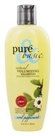 Pure & Basic - Natural Shampoo Volumizing Cool Peppermint - 12 oz. (074092031082)