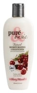 Image of Pure & Basic - Natural Conditioner Moisturizing Cherry Almond - 12 oz.