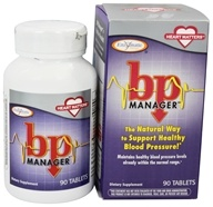 Enzymatic Therapy - BP Manager - 90 Tablets - $16.47