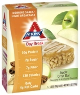 Atkins Nutritionals Inc. - Day Break Bar Apple Crisp - 5 Bars (637480055048)