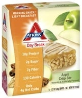 Atkins Nutritionals Inc. - Day Break Bar Apple Crisp - 5 Bars, from category: Diet & Weight Loss