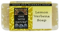 One With Nature - Dead Sea Mineral Bar Soap Mini Lemon Verbena - 1.05 oz. (893455000523)