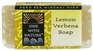 One With Nature - Dead Sea Mineral Bar Soap Mini Lemon Verbena - 1.05 oz. by One With Nature