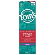 Tom's of Maine - Natural Toothpaste Propolis & Myrrh Fluoride-Free Fennel - 5.5 oz.
