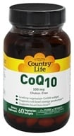 CoQ10 100 mg. - 60 Vegetarian Softgels by Country Life