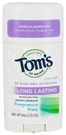 Tom's of Maine - Natural Deodorant Stick Women's Long-Lasting Fragrance-Free - 2.25 oz.