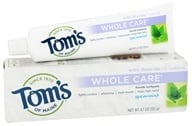 Tom's of Maine - Natural Toothpaste Whole Care With Fluoride Spearmint - 4.7 oz., from category: Personal Care