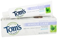 Image of Tom's of Maine - Natural Toothpaste Whole Care With Fluoride Spearmint - 4.7 oz.