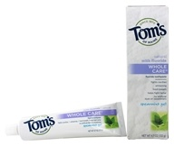 Tom's of Maine - Natural Toothpaste Whole Care With Fluoride Spearmint Gel - 4.7 oz.