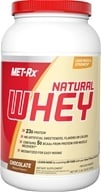 MET-Rx - 100% Natural Whey Instantized Chocolate - 2 lbs. CLEARANCED PRICED