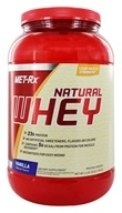 Image of MET-Rx - 100% Natural Whey Instantized Vanilla - 2 lbs.