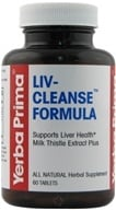Yerba Prima - Liv-Cleanse Formula - 60 Tablets CLEARANCED PRICED by Yerba Prima