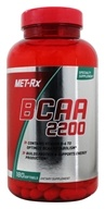 MET-Rx - BCAA 2200 - 180 Softgels, from category: Sports Nutrition