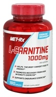 Image of MET-Rx - L-Carnitine 1000 mg. - 180 Caplets