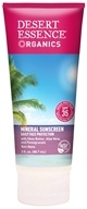 Desert Essence - Mineral Sunscreen 35 SPF - 3 oz.