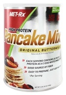 MET-Rx - Protein Plus High Protein Pancake Mix Original Buttermilk - 2 lbs., from category: Health Foods