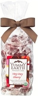 Yummy Earth - Organic Artisanal Candy Gluten Free Very Very Cherry - 6 oz.