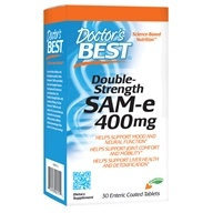 Doctor's Best - Sam-e 400 mg. - 30 Enteric-Coated Tablets - $18.39