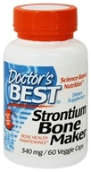 Doctor's Best - Strontium Bone Maker 340 mg. - 60 Vegetarian Capsules, from category: Nutritional Supplements