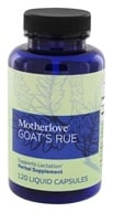 Motherlove - Goat's Rue - 120 Vegetarian Capsules, from category: Nutritional Supplements