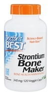 Image of Doctor's Best - Strontium Bone Maker 340 mg. - 120 Vegetarian Capsules