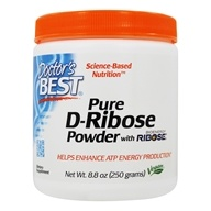 Doctor's Best - Best D-Ribose Featuring BioEnergy Ribose - 8.8 oz. by Doctor's Best