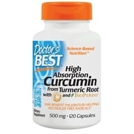 Doctor's Best - High Absorption Curcumin C3 Complex with BioPerine 500 mg. - 120 Capsules