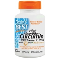 Doctor's Best - High Absorption Curcumin C3 Complex with BioPerine 500 mg. - 120 Capsules /LUCKY PRICE