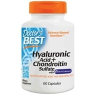 Doctor's Best - Best Hyaluronic Acid with Chondroitin Sulfate 100 mg. - 60 Capsules by Doctor's Best