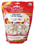 Yum Earth - Organic Candy Drops Gluten Free Hopscotch Butterscotch - 13 oz.