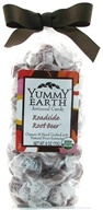 Yummy Earth - Organic Artisanal Candy Gluten Free Roadside Rootbeer - 6 oz., from category: Health Foods