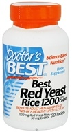 Doctor's Best - Best Red Yeast Rice with CoQ10 1200 mg. - 60 Tablets - $10.78
