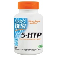 Doctor's Best - Best 5-HTP 100 mg. - 60 Vegetarian Capsules, from category: Nutritional Supplements