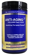 Dr. Venessa's Formulas - Anti-Aging 3 Collagen Powder Mixed Berry - 615 Grams (606851601801)