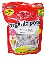 Yummy Earth - Organic Lollipops Gluten Free TooBerry Blueberry - 12.3 oz.