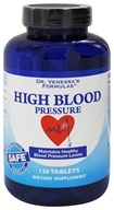 Dr. Venessa's Formulas - High Blood Pressure Support - 120 Tablets (606851601214)