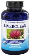 Dr. Venessa's Formulas - Liver Clean - 100 Tablets, from category: Detoxification & Cleansing