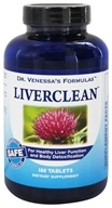Dr. Venessa's Formulas - Liver Clean - 180 Tablets, from category: Detoxification & Cleansing