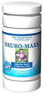 Dr. Venessa's Formulas - Neuro-Maxx - 60 Tablets CLEARANCED PRICED