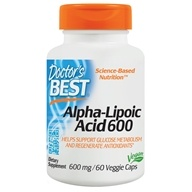 Doctor's Best - Best Alpha Lipoic Acid 600 mg. - 60 Vegetarian Capsules