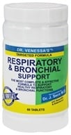 Dr. Venessa's Formulas - Respiratory & Bronchial Support - 60 Tablets, from category: Herbs